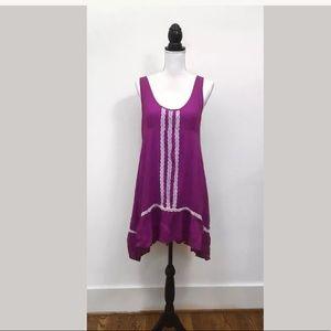 Entro medium purple lace dress